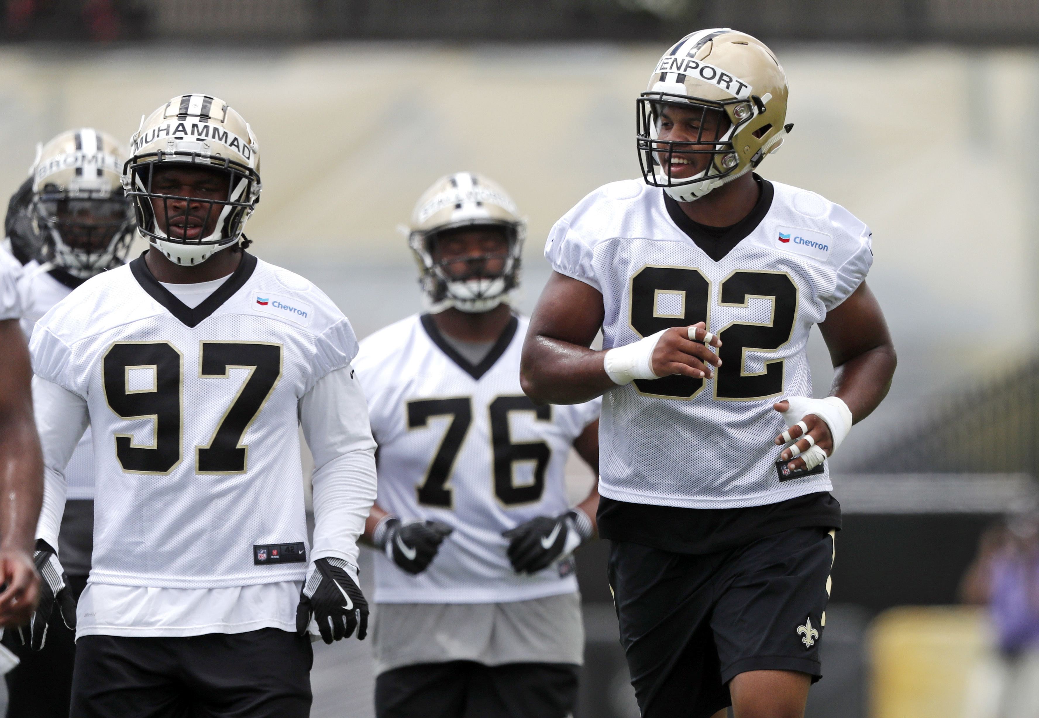 Saints' Davenport: Year 2 confidence stems from 'the truth'