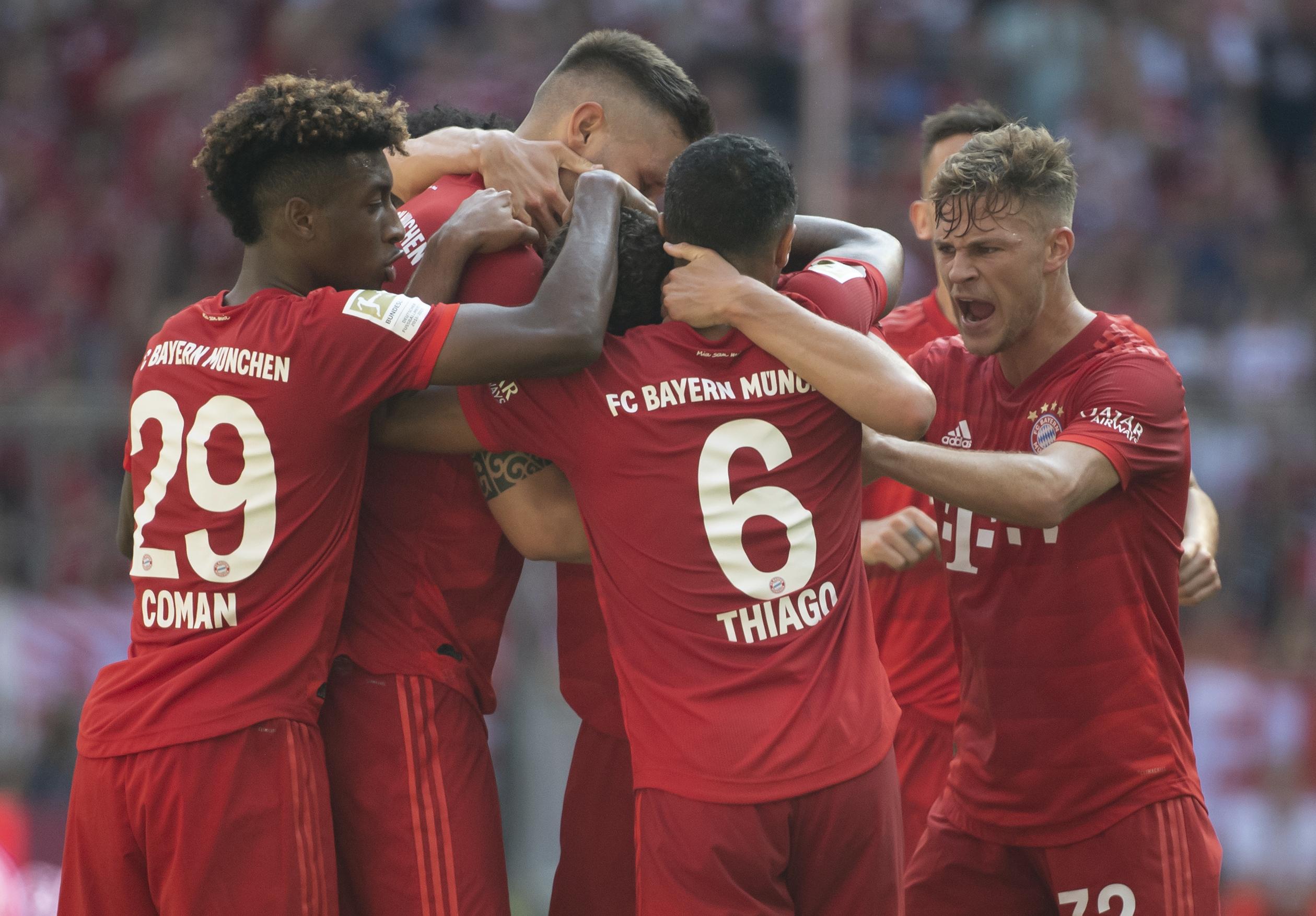 1st Bundesliga win for Union Berlin; Bayern routs Mainz 6-1