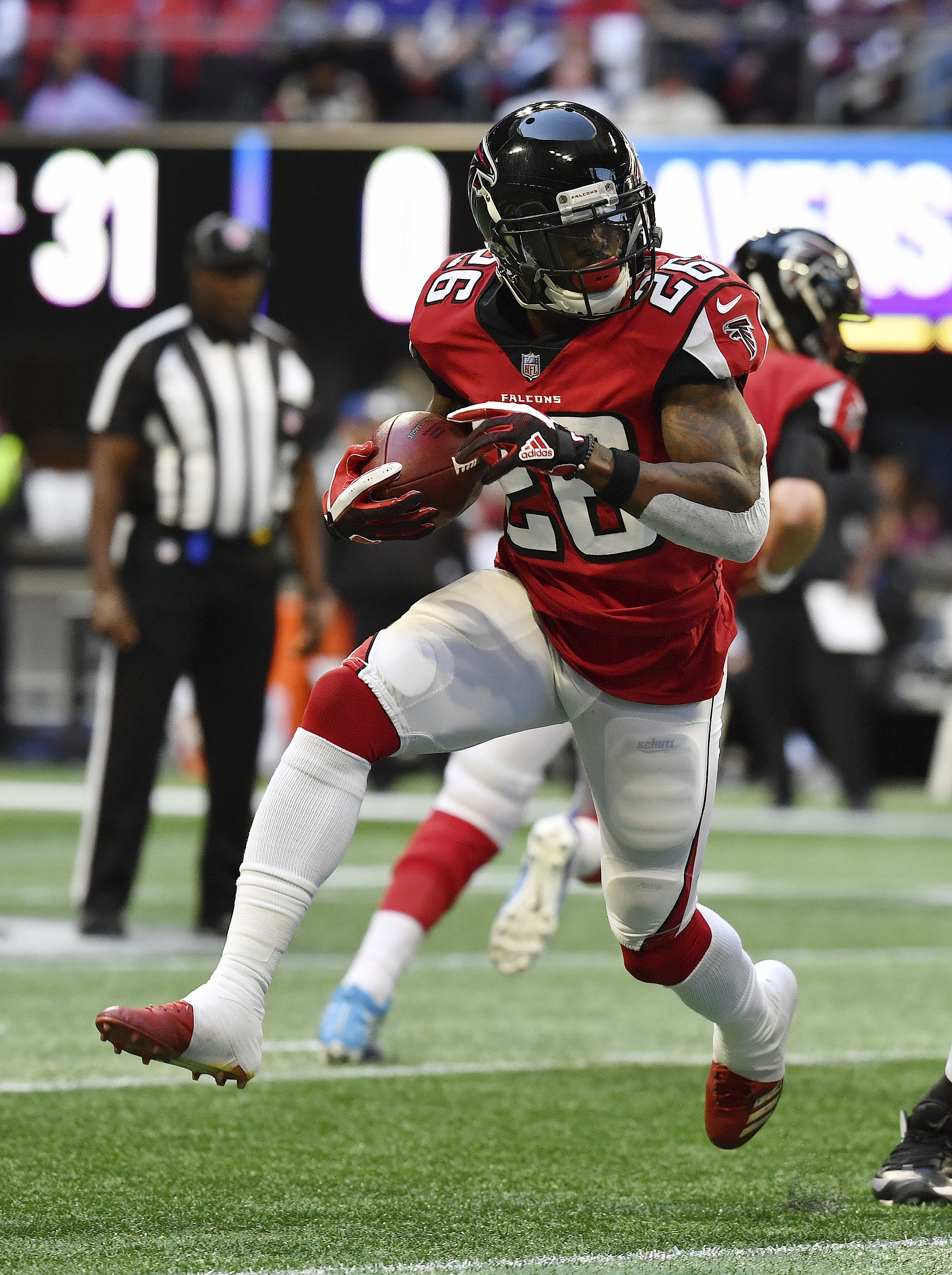 Falcons' running game woes come in bad time for Coleman