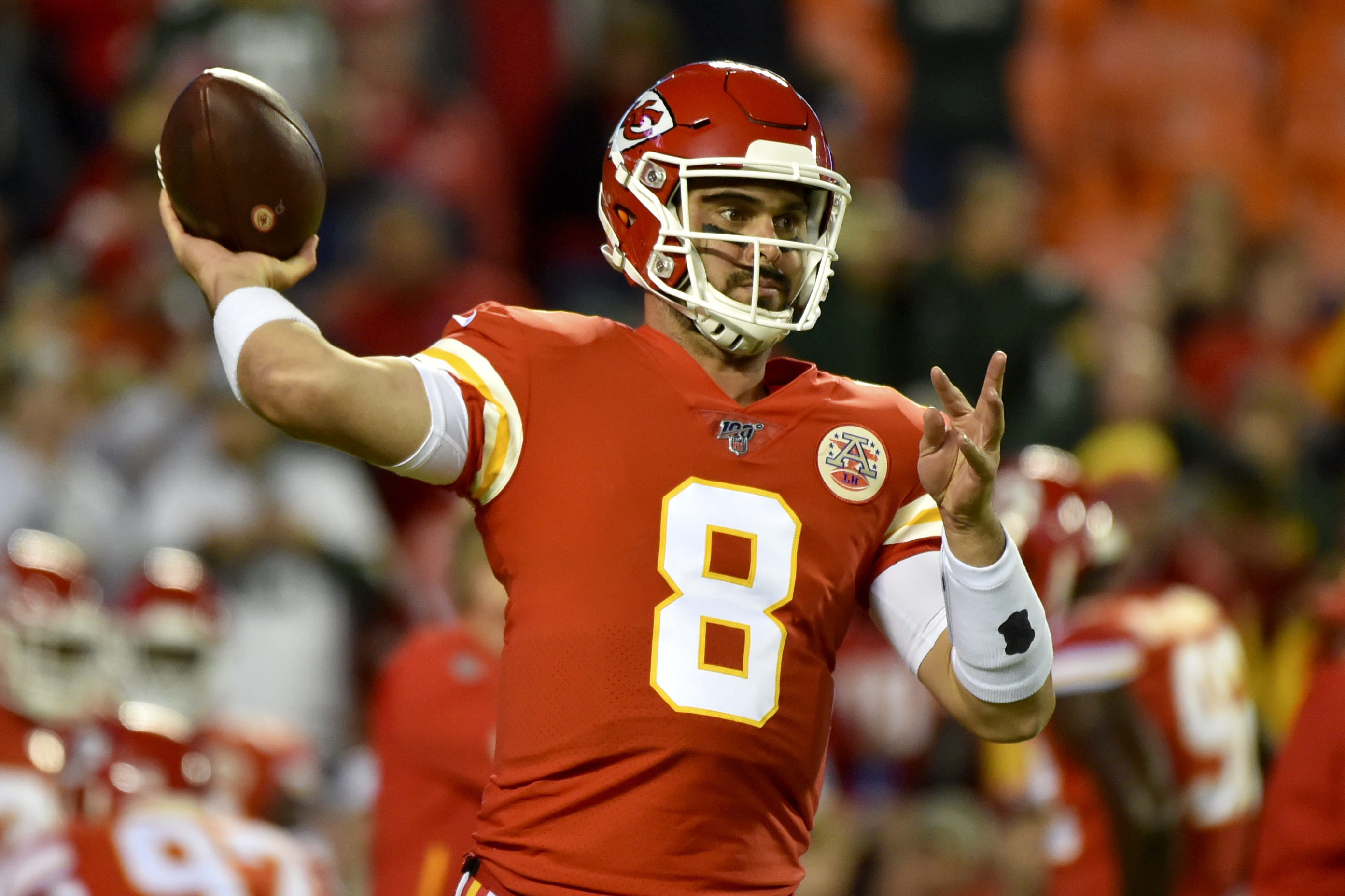 Moore gives Chiefs chance in showdown with Packers