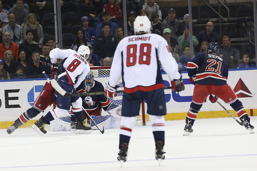 Ovechkin scores in overtime to give Capitals a win