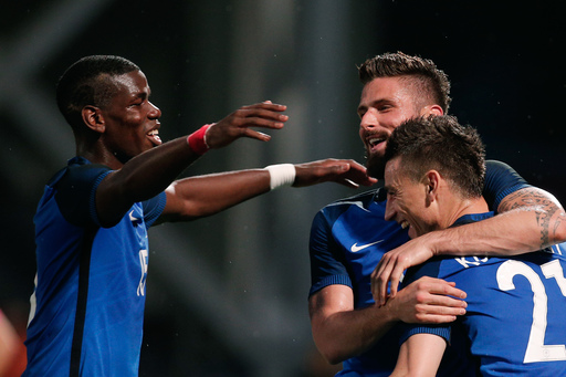 Didier Deschamps has to figure out how to best use Paul Pogba