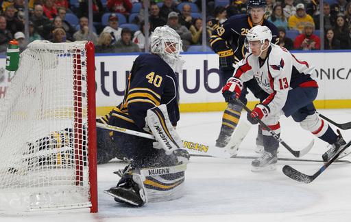 Oshie, Johansson, Grubauer lift Caps over Sabres 4-1 (Dec 09, 2016)