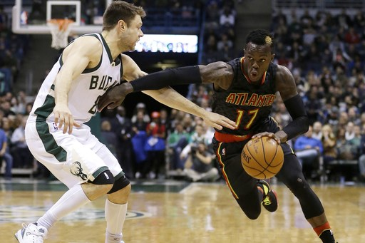 Schroder has career-high 33, Hawks rally past Bucks 114-110 (Dec 09, 2016)