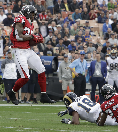 Young defense playing key role for division-leading Falcons