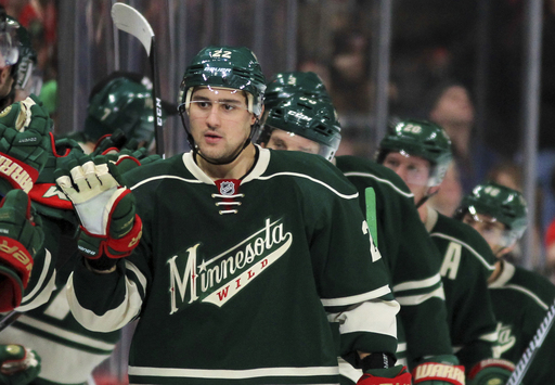 Dubnyk, Wild extend win streak with 3-1 victory over Blues (Dec 11, 2016)