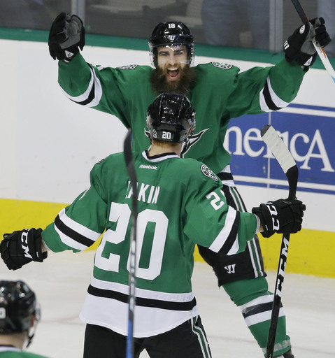 Stars score 5 goals in 3rd period, beat Ducks 6-2 (Dec 13, 2016)