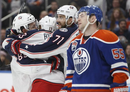 Blue Jackets make it 7 straight wins, beat Oilers 3-1 (Dec 13, 2016)