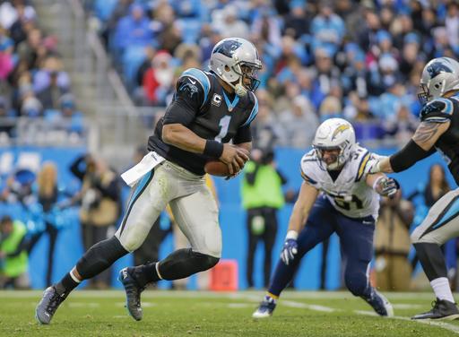 Rivera: Panthers QB Newton fine after MRI on right shoulder
