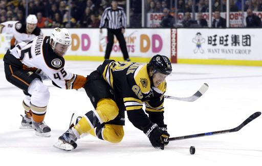 Manson and Rakell score in 2nd; Ducks beat Bruins 4-3 (Dec 15, 2016)