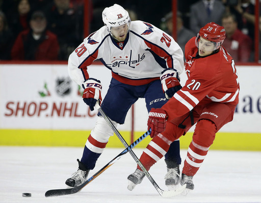 Oshie, Kuznetsov help Capitals beat Canes 4-3 in shootout (Dec 16, 2016)