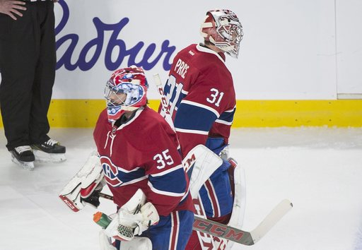Sharks chase Carey Price, beat Canadiens 4-2. (Dec 16, 2016)