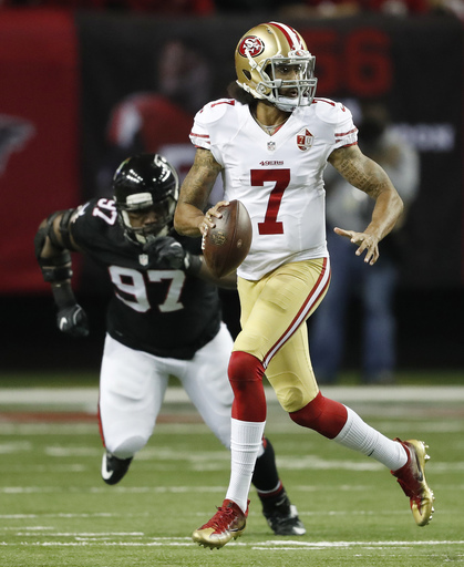 Falcons rout 49ers, shift focus to NFC South title chase