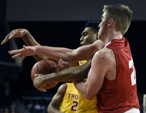 No. 23 USC stays unbeaten with a 79-67 win over Cornell (Dec 19, 2016)