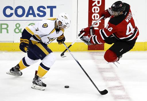 Neal scores 2, Predators beat Devils 5-1 (Dec 20, 2016)