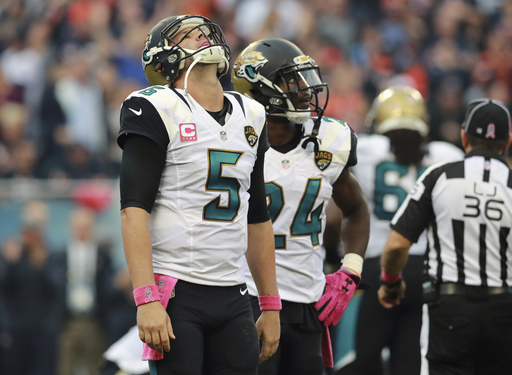 Woeful Jaguars trying to avoid 1st winless season at home