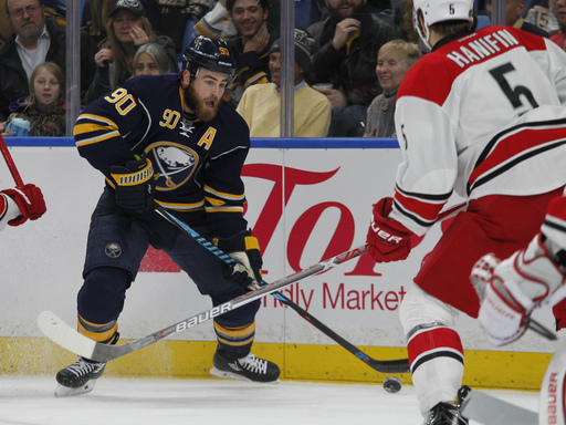 Sabres center O'Reilly out after having appendectomy