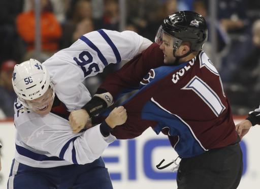 Kadri scores 2 goals, Maple Leafs blank Avalanche 6-0 (Dec 22, 2016)