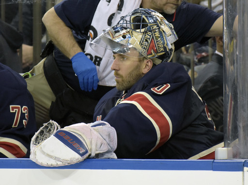 Wild chase Lundqvist, beat Rangers 7-4 for 10th straight win (Dec 23, 2016)