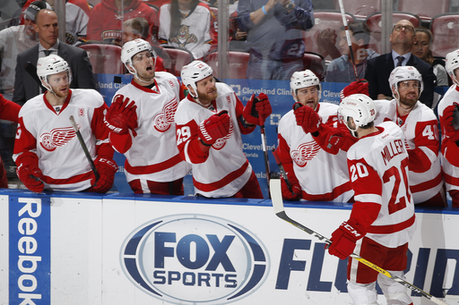 Vanek, Nielsen score in overtime in 4-3 Detroit win (Dec 23, 2016)