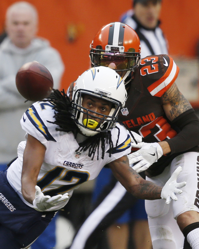 Chargers suffer toughest loss yet, 20-17 to lowly Browns