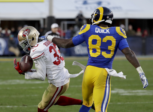 Kaepernick, 49ers end 13-game skid with 22-21 win over Rams (Dec 24, 2016)
