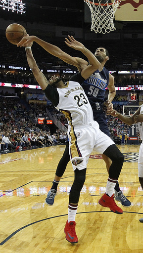 Davis leads Pelicans past Mavericks, 111-104 (Dec 26, 2016)