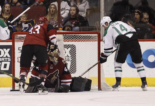 Lehtonen, Stars win testy game vs Coyotes (Dec 27, 2016)