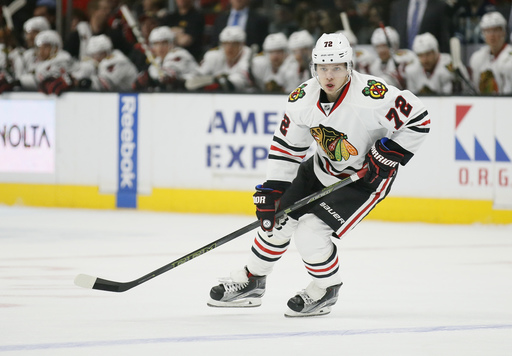 "Blackhawks GM Bowman calls Panarin extension ""top priority"""