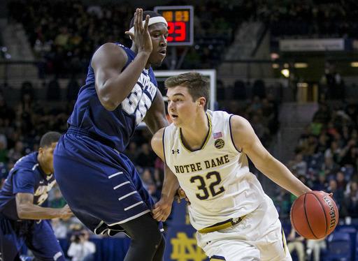 No. 24 Notre Dame beats Saint Peter's 63-55. (Dec 28, 2016)