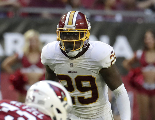 Redskins counting on depth at safety positions vs. Giants
