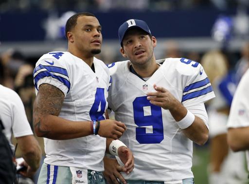 Prescott, Cowboys headline teams winning minus injured stars