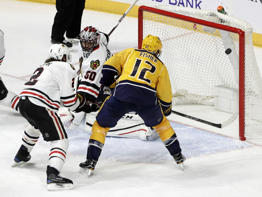 Kane has goal, assist in Blackhawks' 3-2 win over Predators (Dec 29, 2016)