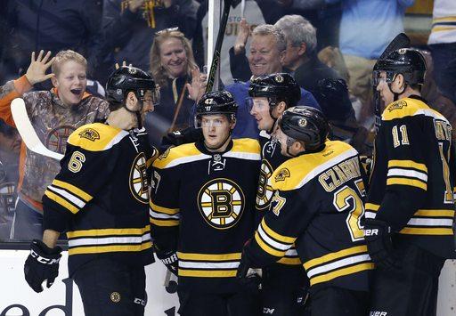 Bruins beat Sabres 3-1 on Bergeron, Schaller goals (Dec 31, 2016)