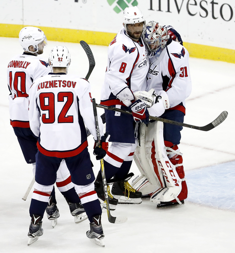 Oshie, Ovechkin power Capitals to 6-2 win over Devils (Dec 31, 2016)