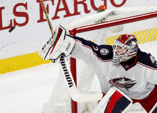 Jackets reach 15 in row with 4-2 win, stop Wild streak at 12 (Dec 31, 2016)