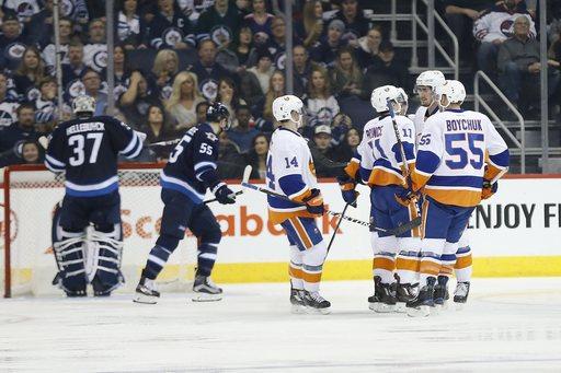 John Tavares, Ryan Strome lead Islanders past Jets, 6-2 (Dec 31, 2016)