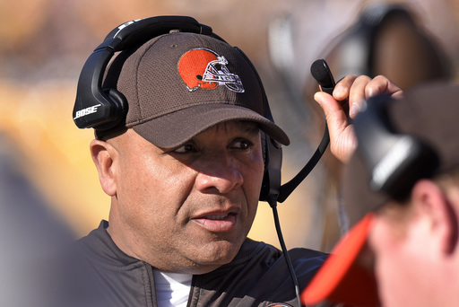 Browns' Jackson vows:  'We are not going 1-15 next year'