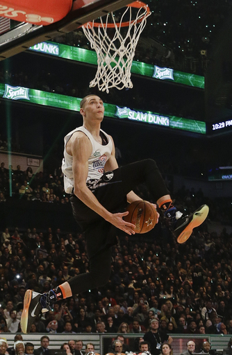 Wolves' Zach LaVine will not dunk at All-Star weekend