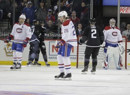 Ladd scores twice, Islanders beat Canadiens 3-1 (Jan 26, 2017)