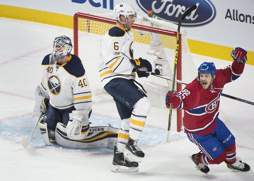 Pacioretty gets hat trick to lift Canadiens over Sabres 5-2 (Jan 31, 2017)