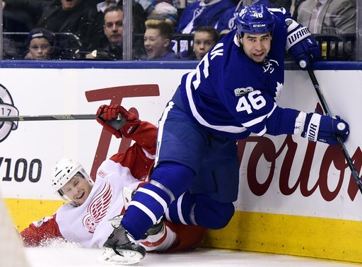 Maple Leafs' Roman Polak suspended 2 games for boarding
