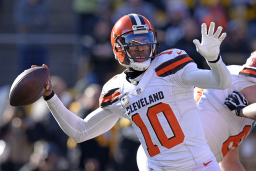 RG3 and out: Browns release quarterback Robert Griffin III