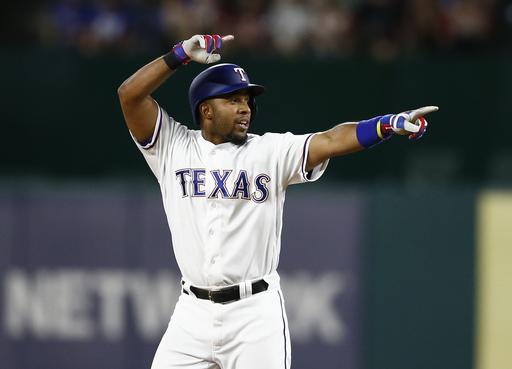 Mazara hits slam, has 6 RBIs to get Rangers first win (Apr 07, 2017)