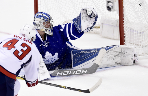 Tom Wilson plays hero for Capitals in Game 4 win over Leafs