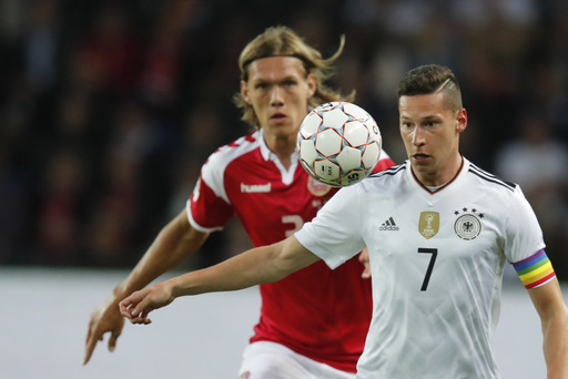 Kimmich rescues 1-1 for experimental Germany side in Denmark