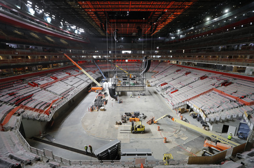 New arena in Detroit aims to be the best after scouting rest