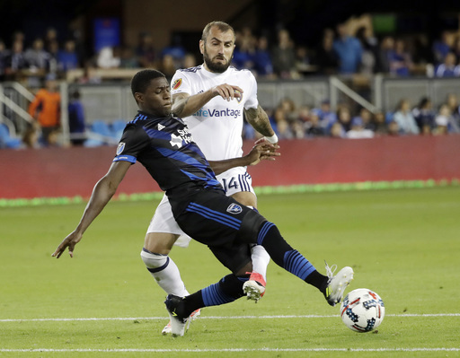 Hoesen leads Quakes past Real Salt Lake with goal, assist (Jun 24, 2017)