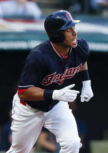Indians' Brantley undergoing tests on injured right ankle