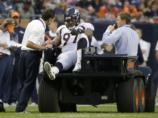 AP Source: Broncos' Billy Winn out for 2017 with knee injury